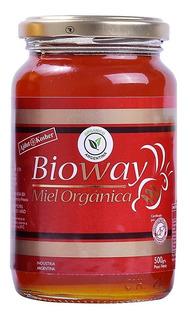 Miel De Abejas 100% Pura Bioway 500gr Kosher Organica