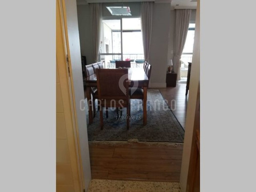 Vila Mascote - Maravilh0so Apartamento Com Quatro Dormitórios - Tres Suites - Cf27310