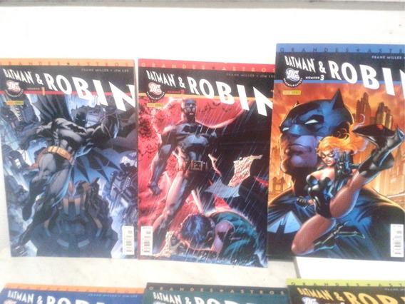 Batman E Robin - Escrito Por Frank Miller Editora Panini