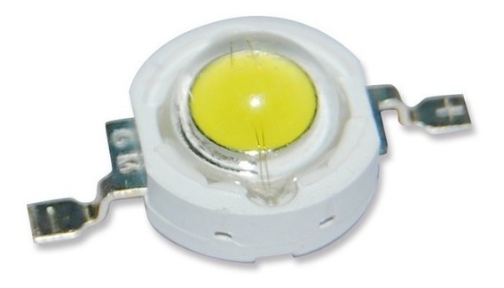 15 Chip Super Power Led 3w 3v Branco Frio 6500k