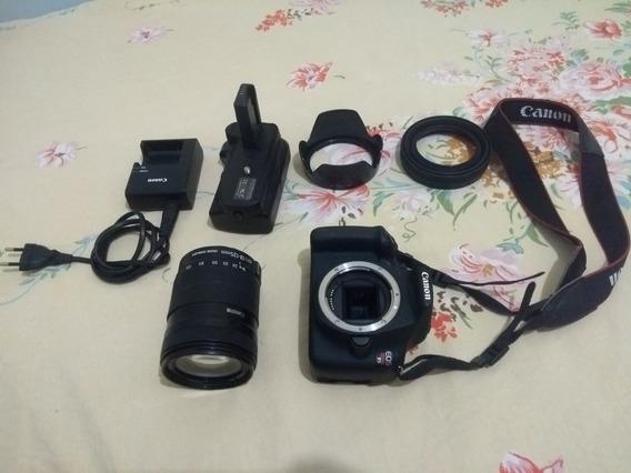 Câmera Canon Eos Rebel T5 + Kit Completo