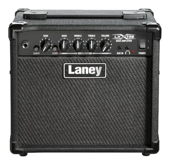 Amplificador Para Bajo Laney Lx15 B 15w 2x5