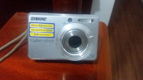 Câmera De Mão / Bolso Sony Iso 1250 - 7.2 Mega Zoom 8x