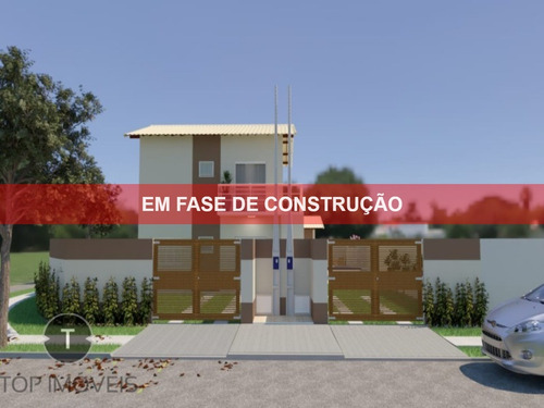 Casa Nova Sobreposta Baixa E Alta À Venda Em Itanhaém , São Paulo , Bairro Califórnia Com 2 Dormitórios Sendo 1 Suíte - Ca00583 - 69233684