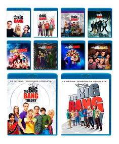 The Big Bang Theory Temporadas 1 2 3 4 5 6 7 8 9 10 Blu-ray