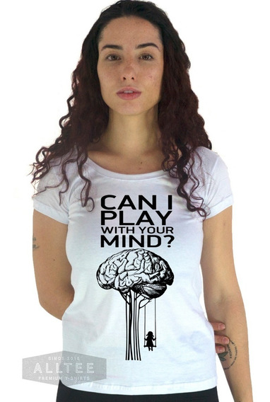 Camiseta Camisa Play With Minds Freud Curso Psicologia Blusa
