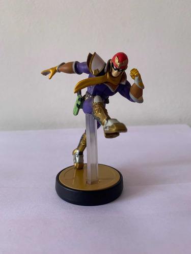 Imagen 1 de 1 de Amiibo De Capitán Falcón Nintendo Wii Original Sin Caja