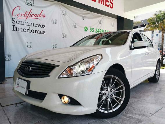 Infiniti G 4p Sedan Premium V6 3.7 Aut