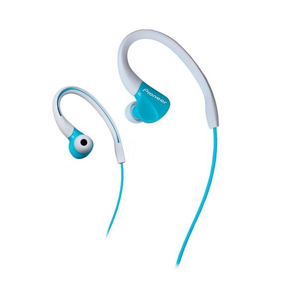 Auriculares Pioneer Verdes Sport In Ear Se-e3 Resist, Agua