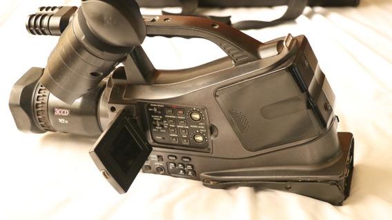 Duas Filmadoras Panasonic Com Baterias E Carregador