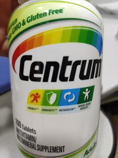 Centrum De A A Zinco 200 Comprimidos Validade 08/2020
