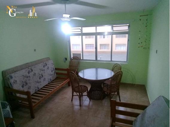 Kitnet Com 1 Dormitório Frente Mar, Por R$ 115.000 - Caiçara - Praia Grande/sp - Kn0202