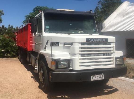 Vendo O Permuto Camión Scania Hs-112 Con Zorra