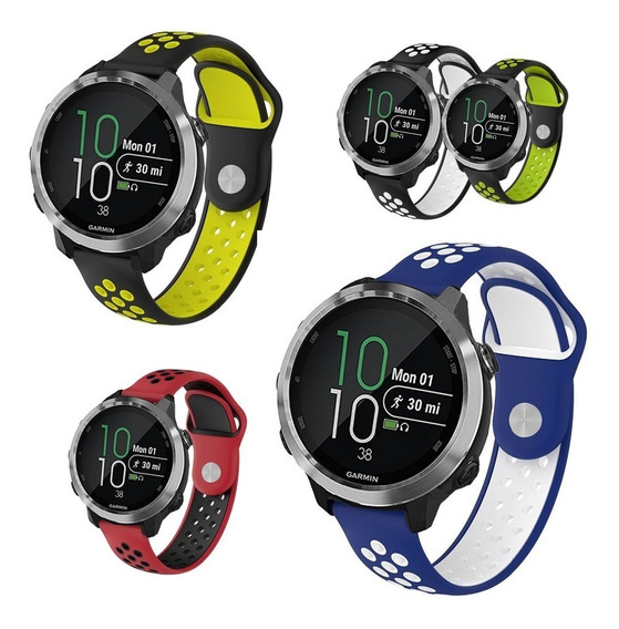 Kit 3x Pulseiras P/ Garmin Forerunner 645 / 645 Music - Top