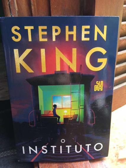 Livro O Instituto Stephen King 543 Páginas Novo