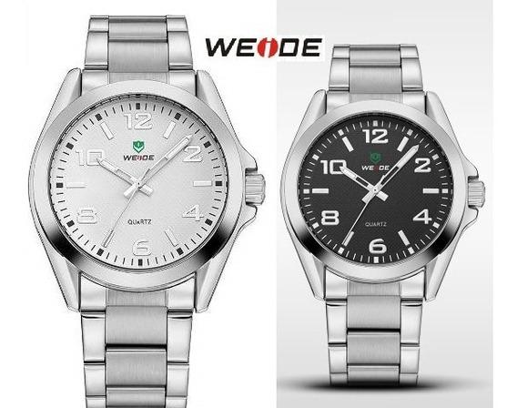 Relógio De Pulso Weide - Caixa Promocional Com 2 Unidades