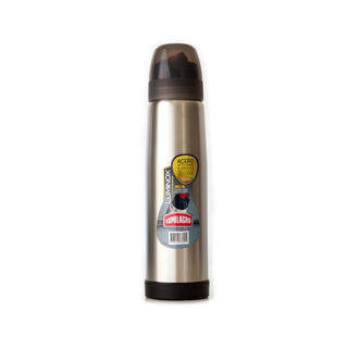 Termo Lumilagro Luminox 1lt Pico Mate Cafe Acero Inoxidable
