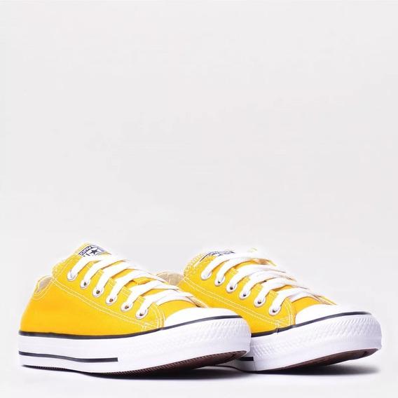 Tênis All Star Tradicional Amarelo/ Infantil
