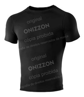 Camiseta Termica Compressão Camisa Segunda Pele Rashguard Manga Curta Liso