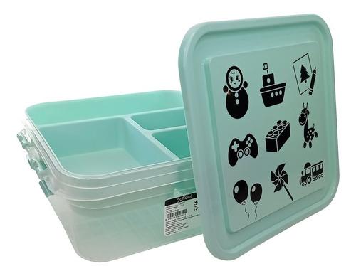 Imagen 1 de 3 de Cajas Organizadoras Plásticas Diseños 4 Litros Gondol ®