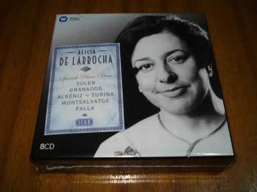 Box Alicia De Larrocha / Contiene 8 Cd (nuevo Y Sellado)