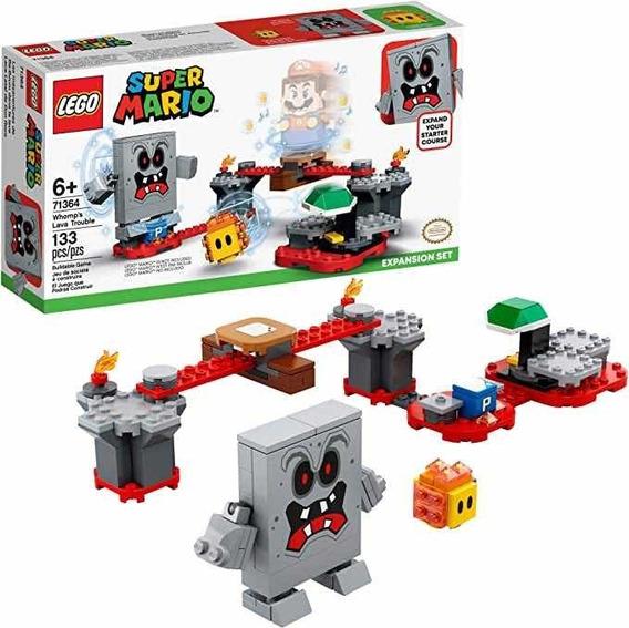 Lego Super Mario Pacote De Expansão Revés Das Lavas Esmagão