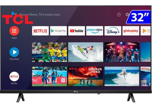 Imagem 1 de 3 de Smart Tv 32s615 Led 32 Polegadas Hd Hdr Wifi Android Tcl