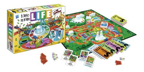 Imagen 1 de 4 de Juego De La Vida Life Los Simpsons 9772 Licencia Hasbro E.f.