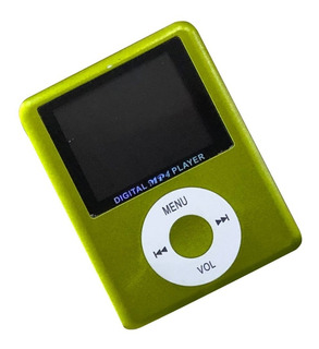Reproductor De Musica Mp4 Ancho Con 8 Gb Memoria Interna