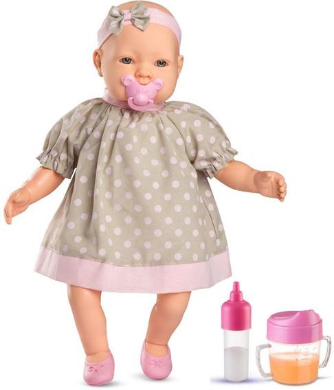 Muñeca Bebe Claire Con Accesorios Roma Brinquedos