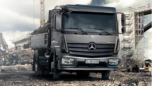 Camion Mercedes Benz Atego 1419/48 Cabina Simple Plan 70/30
