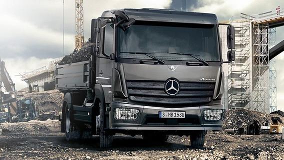 Camion Mercedes Benz Atego 1721 Cabina Simple Caba Financia