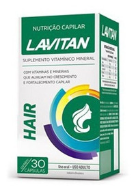 Lavitan Hair Para Queda De Cabelo 30 Caps Cimed