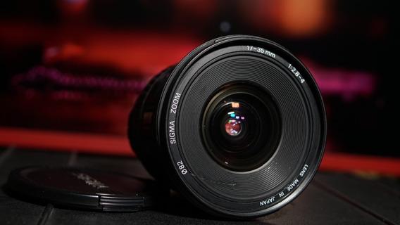 Lente Sigma 17-35mm F/2.8-4 Canon-ef Full Frame