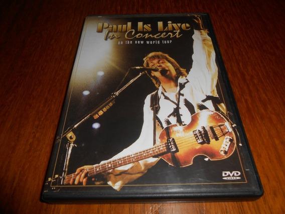 Show Dvd Paul Maccartney. Original.