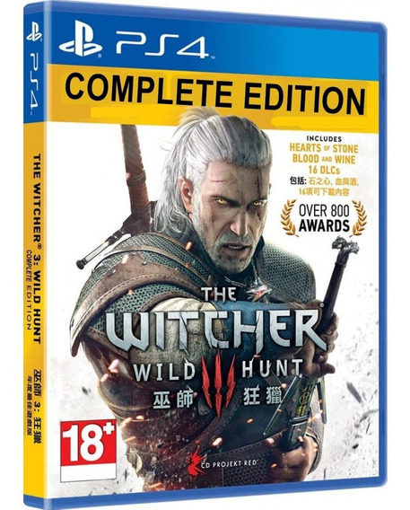 Jogo The Witcher 3 Wild Hunt Ps4 Midia Fisica Novo Original