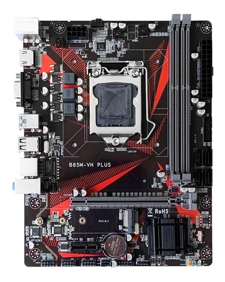 Placa Mãe H81 Lga 1150 Ddr3 P/i3,i5,i7 E Pentium 4ª Geração