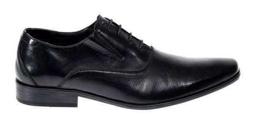 Zapatos De Vestir Uomo Di Ferro 5400 Caballero Color Ne Ps.