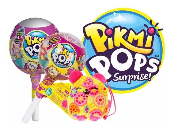 Pikmi Pops 2 Peluches + 4 Sorpresas 75176 Coleccionable Edu