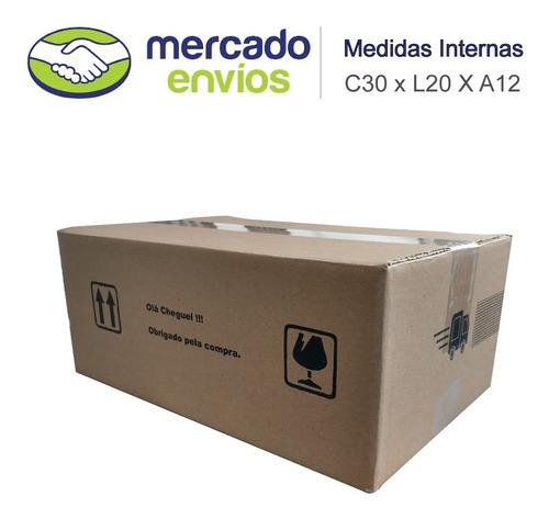 25 Caixas De Papelão 30x20x12 Sedex/pac