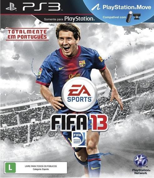 Jogo Fifa 13 Ps3 M. Fisica