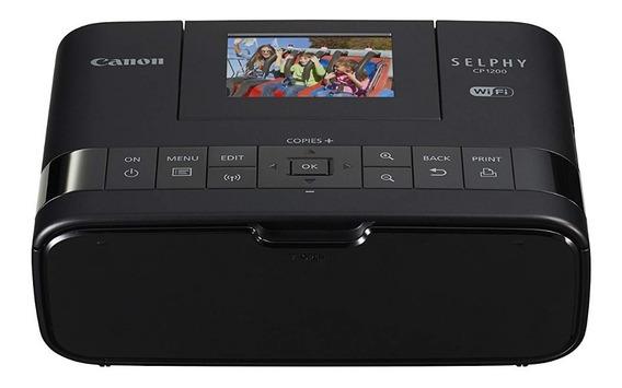 Impressora Portatil Fotográfica Canon Selphy Cp1200 Wireless