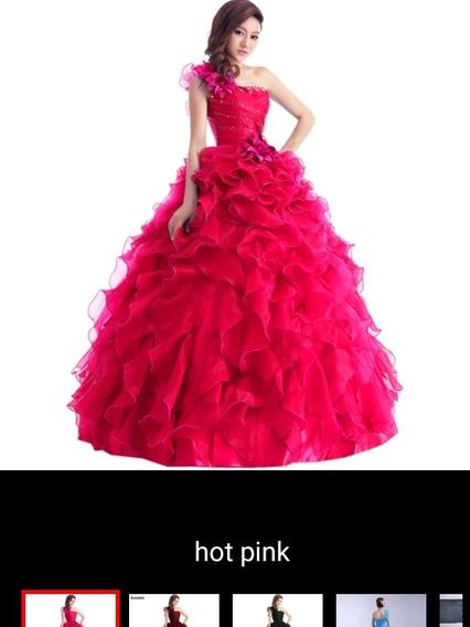 Vestido De 15 Años, Novia 13 Colores Y Tallas Diferentes.