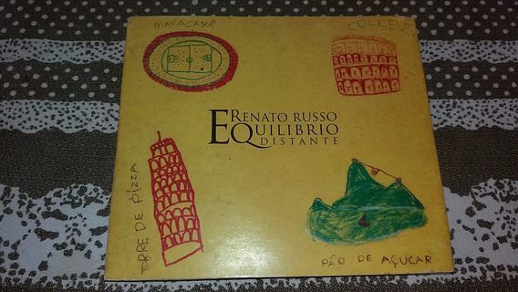 Cd Renato Russo - Equilibrio Distante - Digipack - Original.