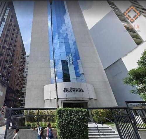 Imagem 1 de 11 de Conjunto Para Alugar, 106 M² Por R$ 7.500,00/mês - Higienópolis - São Paulo/sp - Cj21091