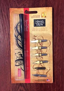 Plumas Caligráficas Speedball Calligraphy Project Set