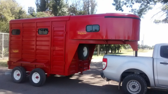 Casa Rodante Camper Para Revestir Con Enganche Cigüeña