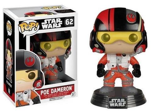 Poe Dameron Funko Pop Star Wars 62 - Bonellihq L18