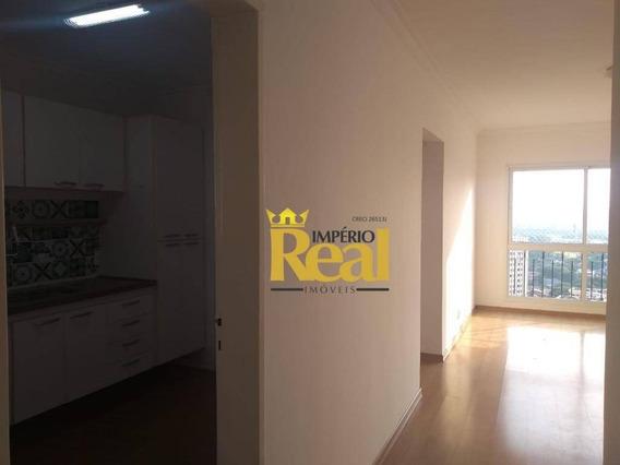 Apartamento Com 3 Dormitórios Para Alugar, 90 M² Por R$ 3.500/mês - Alto De Pinheiros - São Paulo/sp - Ap6579