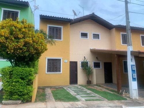 Casa Para Venda 3 Dormitórios(1 Suíte) À  98 M² Por R$ 290.000 - Condomínio Villagio Green Day - Sorocaba/sp - Ca0657
